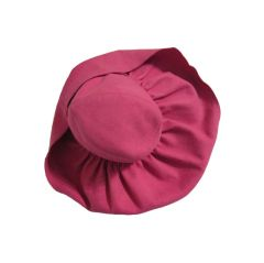 40s Pink Felt Gathered Brim Hat from Carson Pirie and Scott
