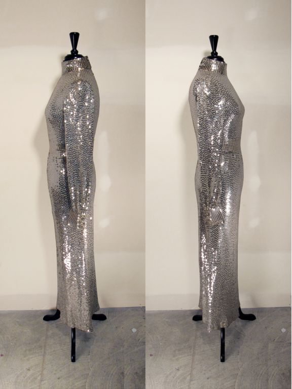Norman Norell 1960s Iconic Sequin Cocktail Dress image 4