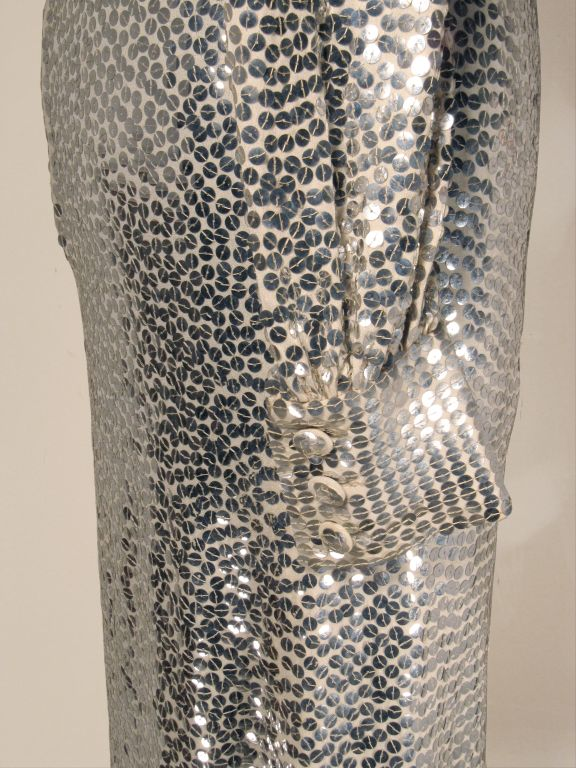 Norman Norell 1960s Iconic Sequin Cocktail Dress image 5