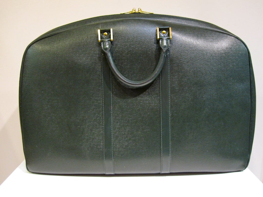 Louis Vuitton Epi Leather Travel Bag in Forest Green image 2