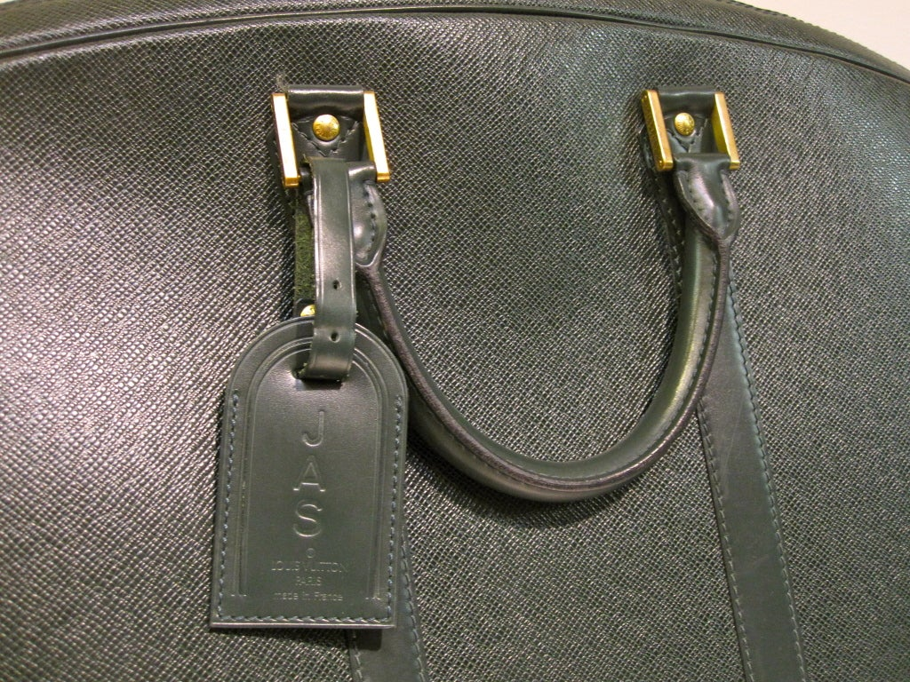 Louis Vuitton Epi Leather Travel Bag in Forest Green image 6