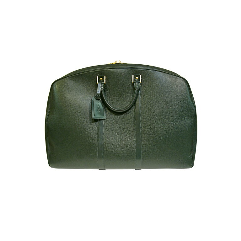 Louis Vuitton Epi Leather Travel Bag in Forest Green