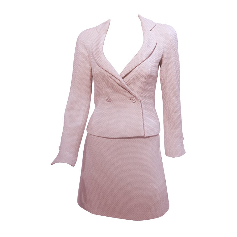 Pink Skirt Suits 76