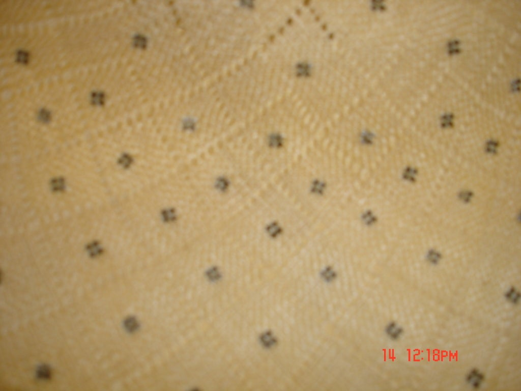 50s Irene of New York Straw Hat with White Studs For Sale 3