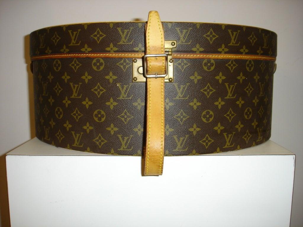 1970's Louis Vuitton Hardcase Hat Box 2