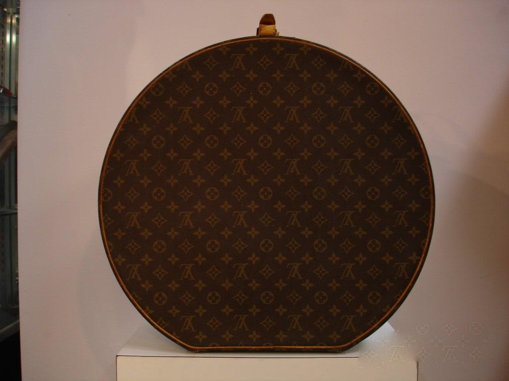 1970's Louis Vuitton Hardcase Hat Box 5