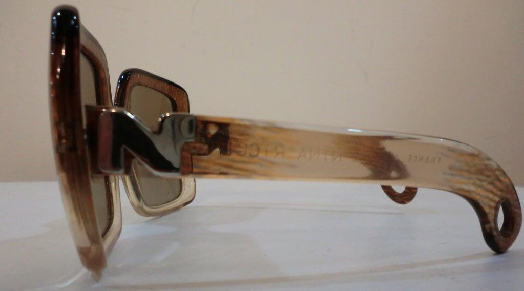 1970's Nina Ricci Sunglasses 4