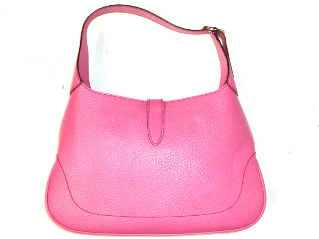 Gucci Bubble-Gum Pink Toggle Closing Shoulder Bag image 2