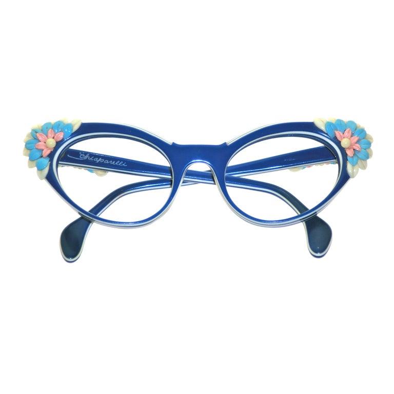 Schiaparelli 50s Sunglass Frames - Dead Stock 1