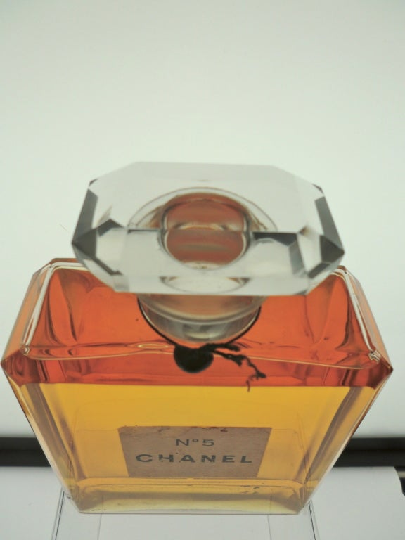 Vintage Chanel No 5 Store Display Factice Bottle At 1stdibs