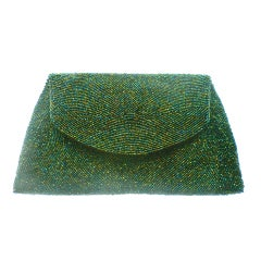 Walborg Hand-Beaded Belgian Evening Clutch