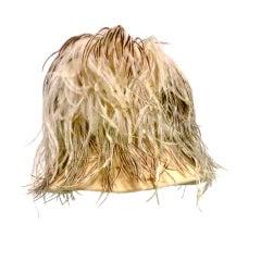"50s Ostrich Feather ""Majorette"" Hat"
