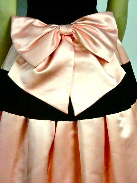Escada Satin and Velvet Ball Gown w/ Stole 7