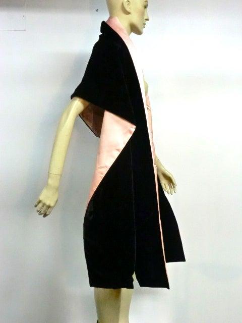 Escada Satin and Velvet Ball Gown w/ Stole 9