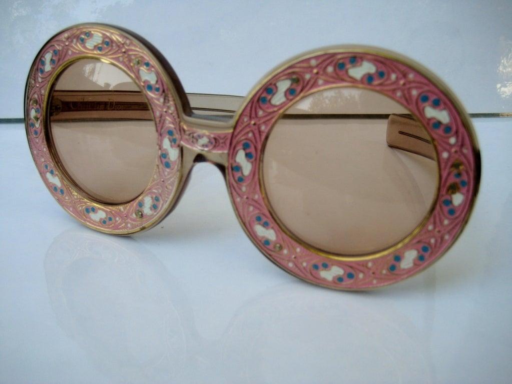 1960's Christian Dior Runway Sunglasses 2