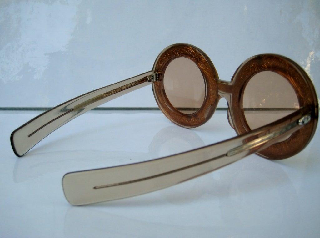 1960's Christian Dior Runway Sunglasses 4