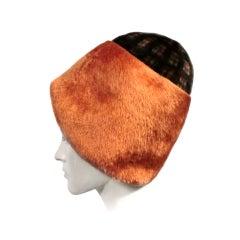 Lia Livoli 60s Milanese Outrageous Hat