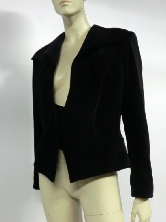 Vivianne Westwood Couture Velvet Jacket w/ built-in Vest 4