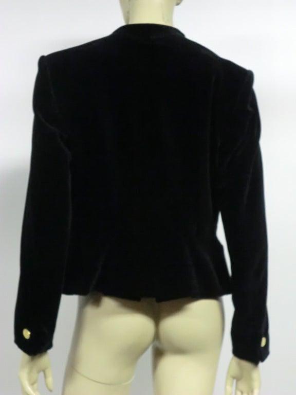 Vivianne Westwood Couture Velvet Jacket w/ built-in Vest 5