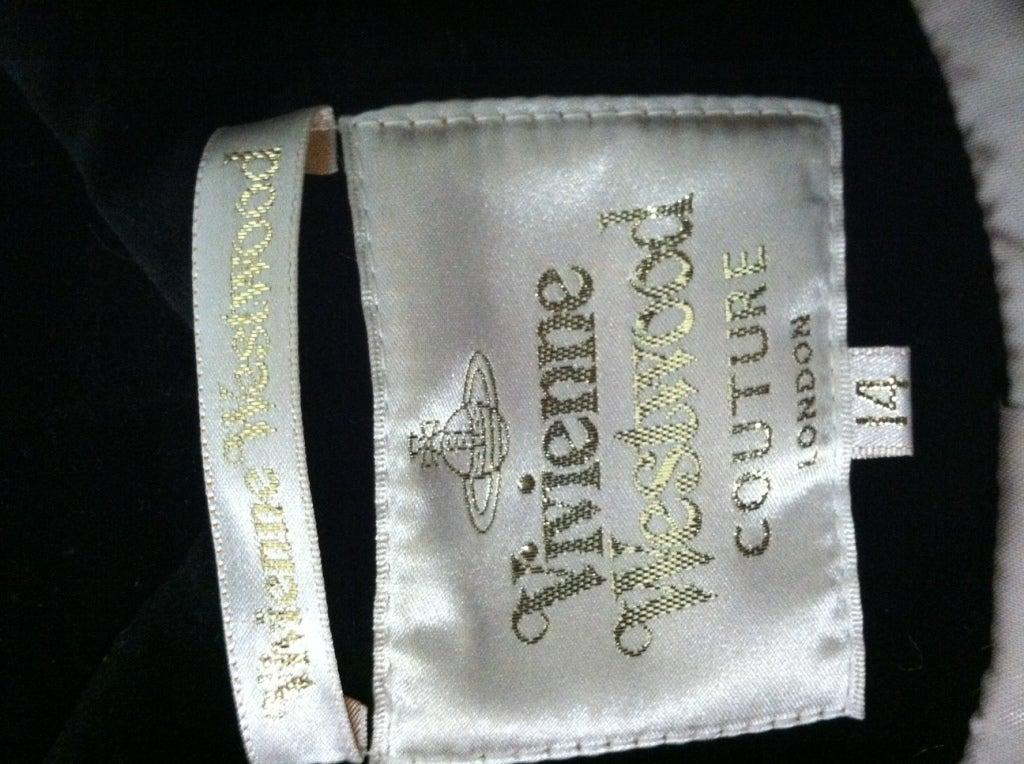 Vivianne Westwood Couture Velvet Jacket w/ built-in Vest 6