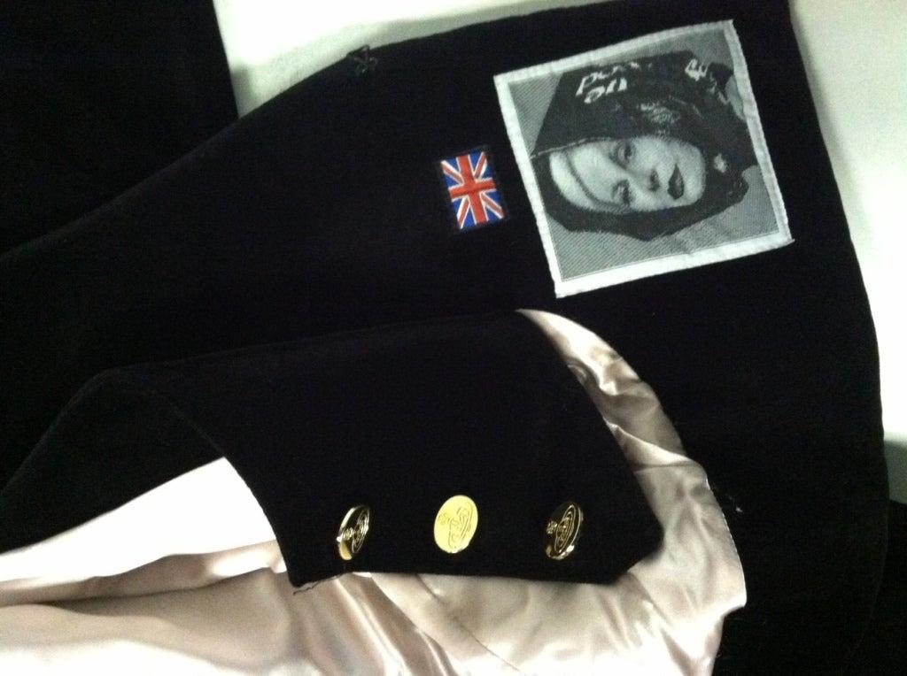Vivianne Westwood Couture Velvet Jacket w/ built-in Vest 7