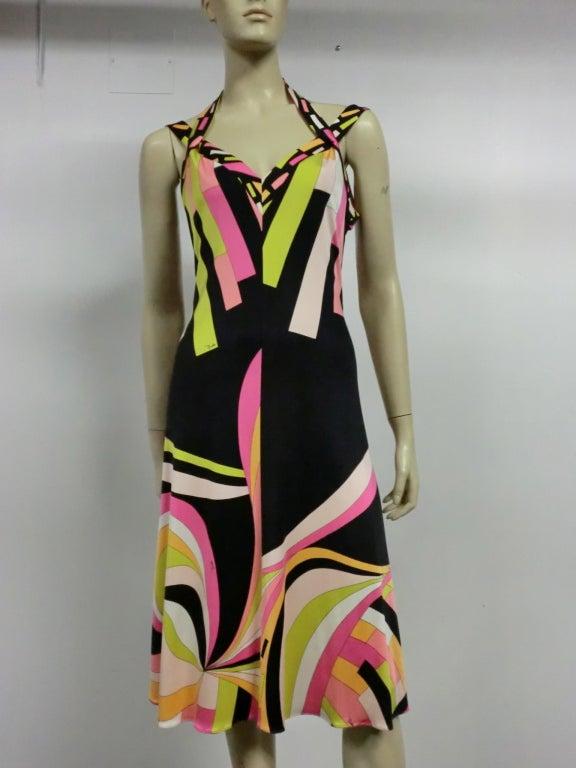 Pucci Silk Jersey Cocktail Dress - Modern 2
