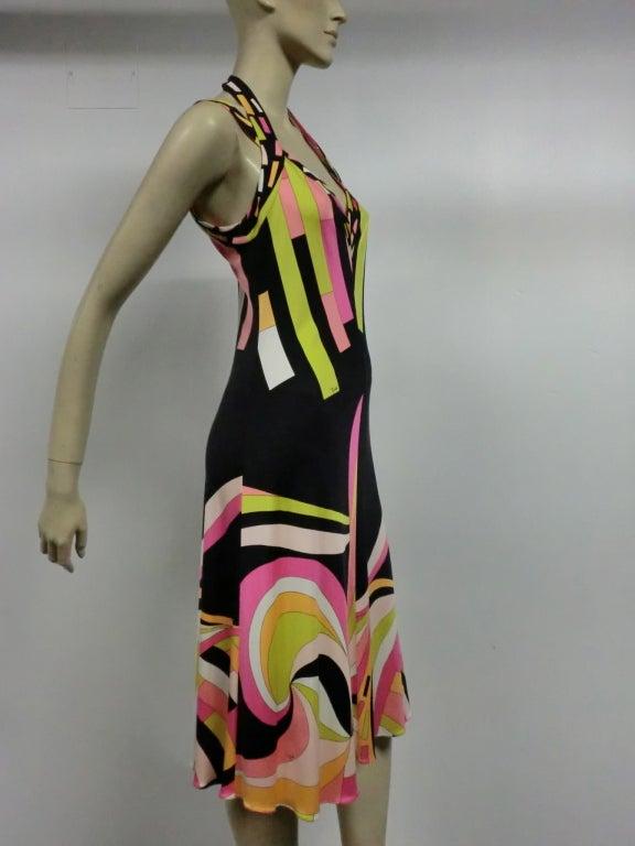 Pucci Silk Jersey Cocktail Dress - Modern 3