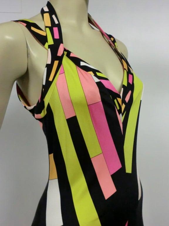 Pucci Silk Jersey Cocktail Dress - Modern 7