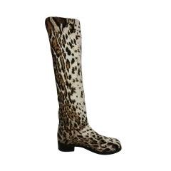 Stuart Weitzman Stenciled Calf Boots