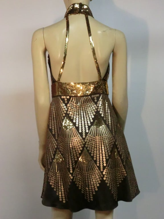 Egyptian Inspired Dress Fendi Egyptian Inspire...