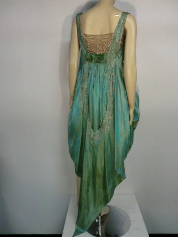 1960s Floor Length Gown Authentic 1960s Vintage Jean