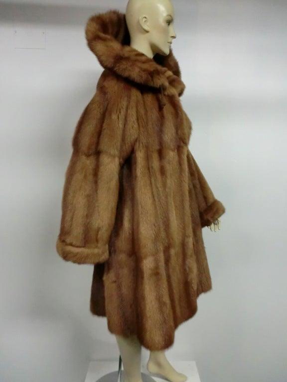 Brown Giuliana Teso Kolinsky Sable Coat from Neiman Marcus