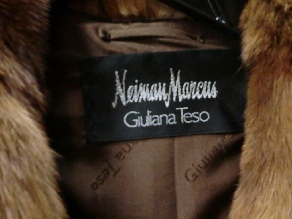 Giuliana Teso Kolinsky Sable Coat from Neiman Marcus 2