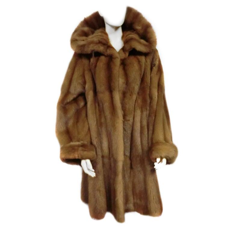 Giuliana Teso Kolinsky Sable Coat from Neiman Marcus