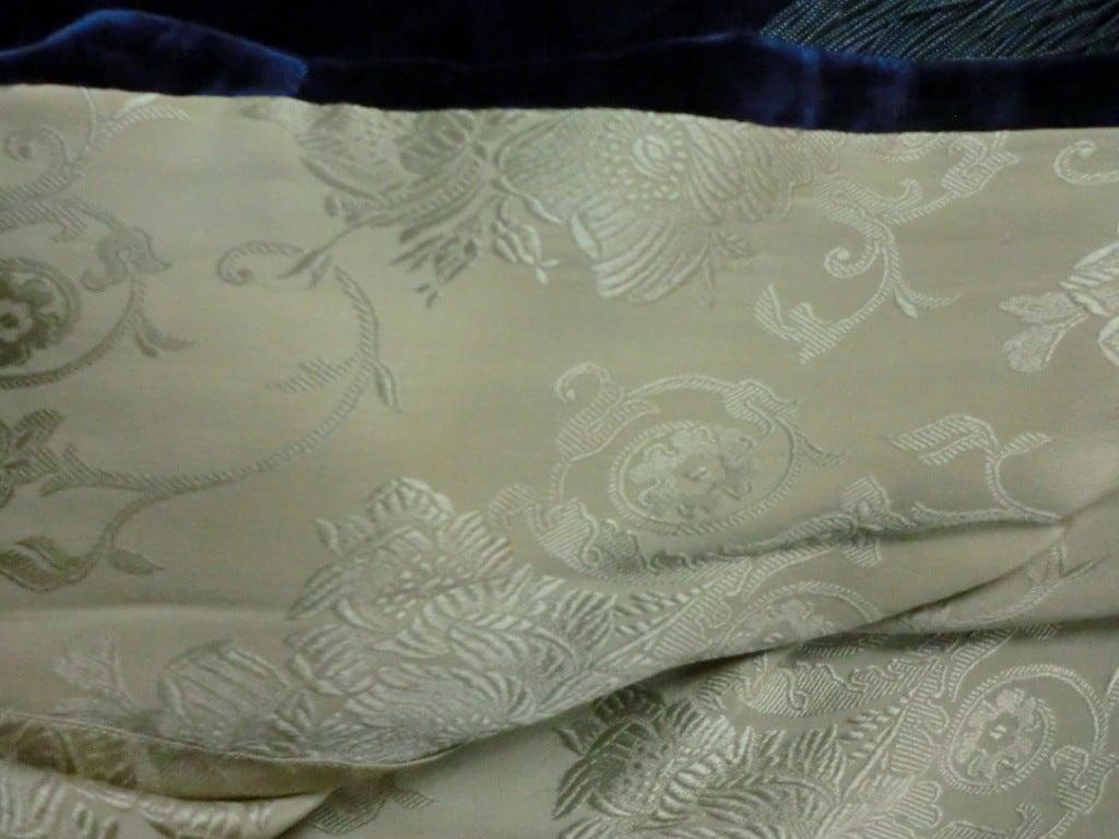 "1920s ""Gatsby"" Style Silk Velvet Cocoon Evening Cape w/ Fringe image 8"