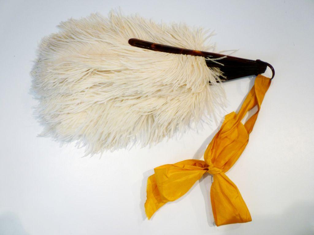 1920s Ostrich Feather Fan 2