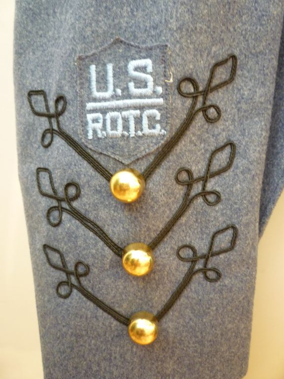 Dress Uniform Jacket w/ Tails and Gold Buttons image 8