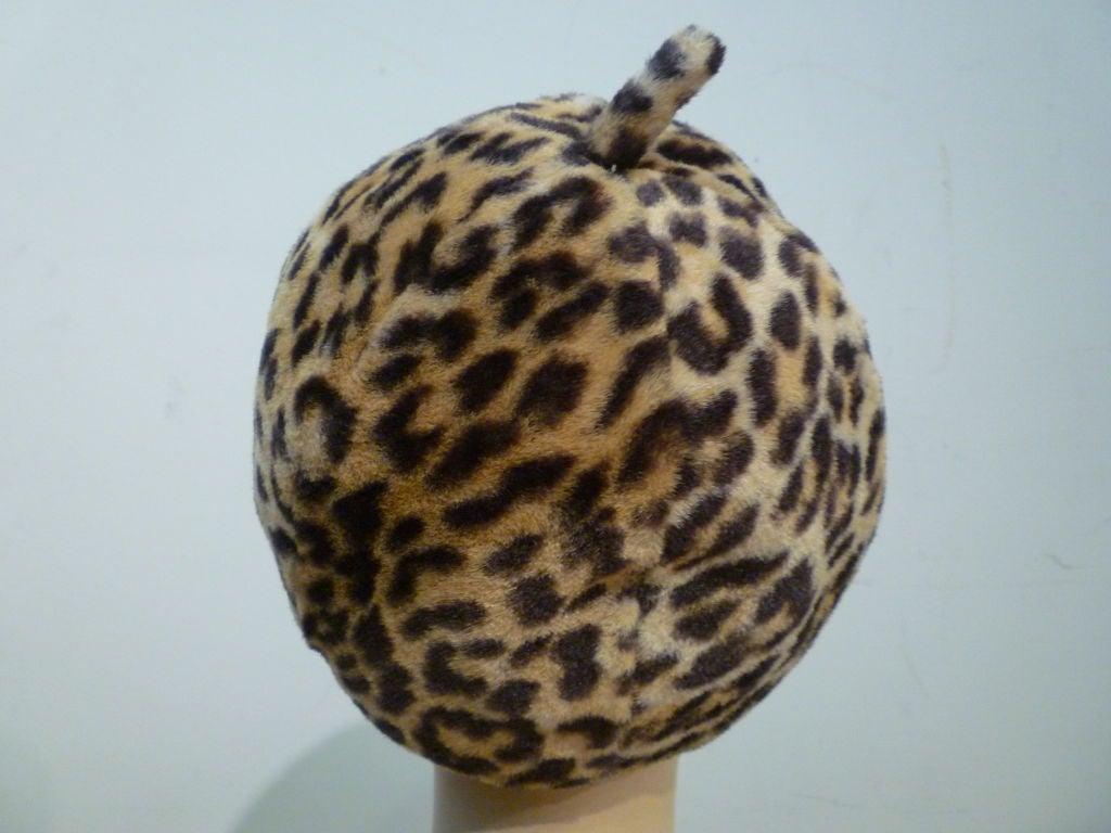 Fabulous Mr. John 60s Mod Leopard Hat 3