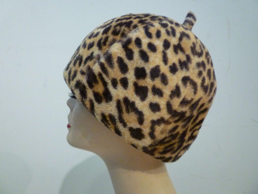 Fabulous Mr. John 60s Mod Leopard Hat 4