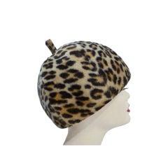 Fabulous Mr. John 60s Mod Leopard Hat