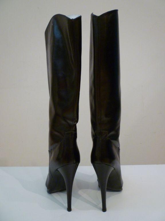 Classic Stiletto Boot w/ Platform Paris 80s 3