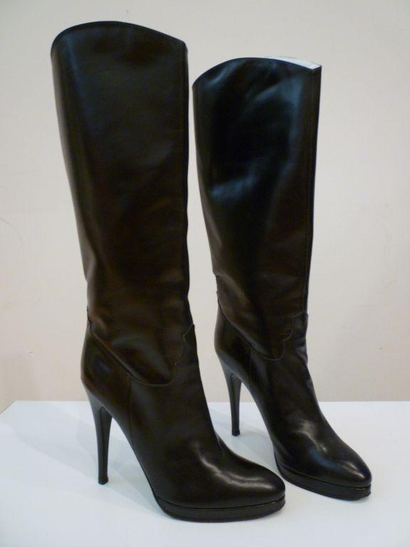 Classic Stiletto Boot w/ Platform Paris 80s 4