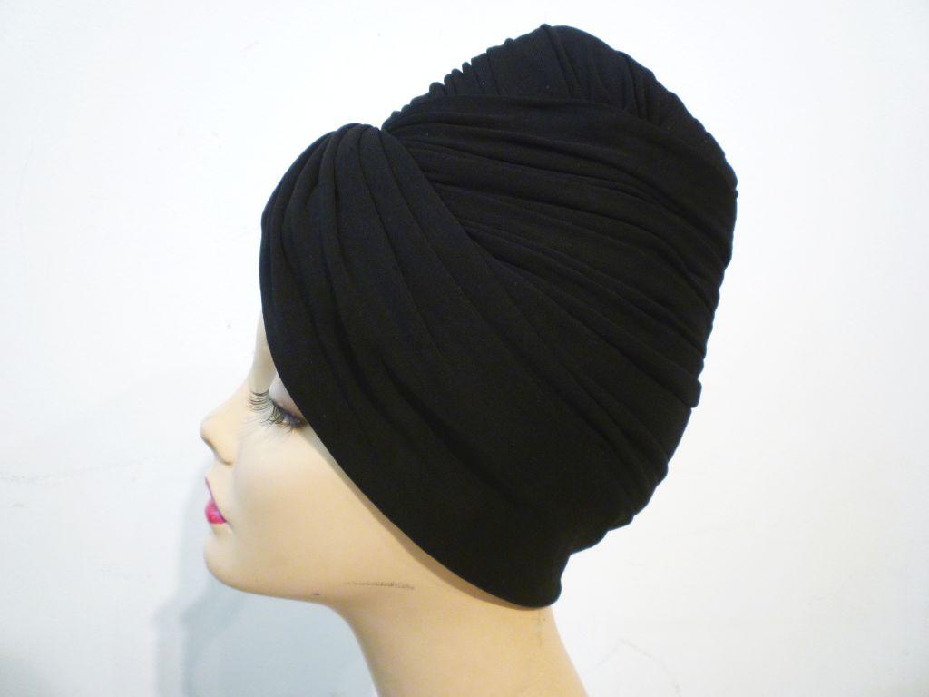 Miss Irene Silk Jersey Turban 40s/50s 2