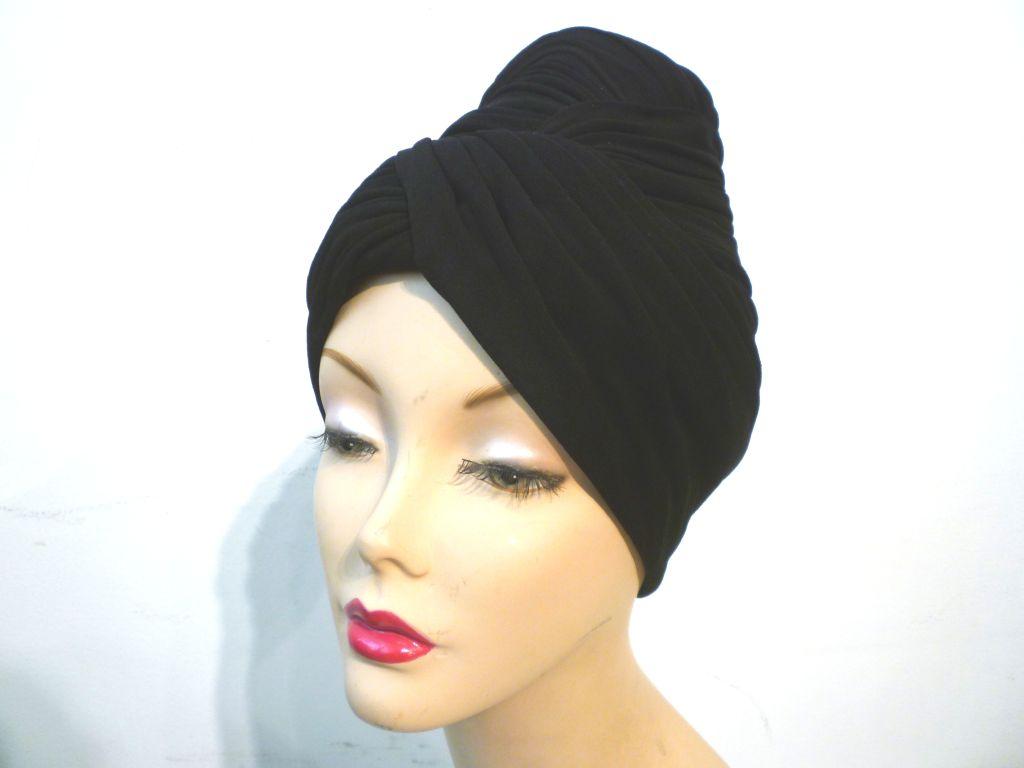 Miss Irene Silk Jersey Turban 40s/50s 7