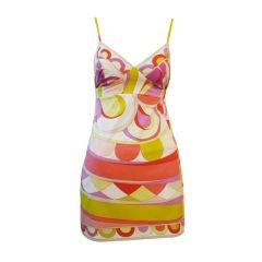 Pucci 2-Piece Mini Dress and Shorts Ensemble