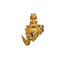 Thai Temple Dancer Headdress Crown