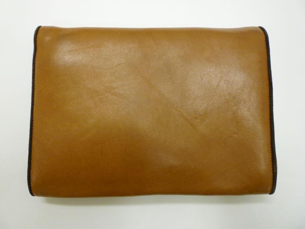 "Maud Frizon 80s Leather ""Kitty"" Shoulder Bag 2"