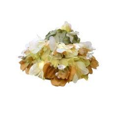 Elsa Schiaparelli  Silk Floral flowerpot Hat