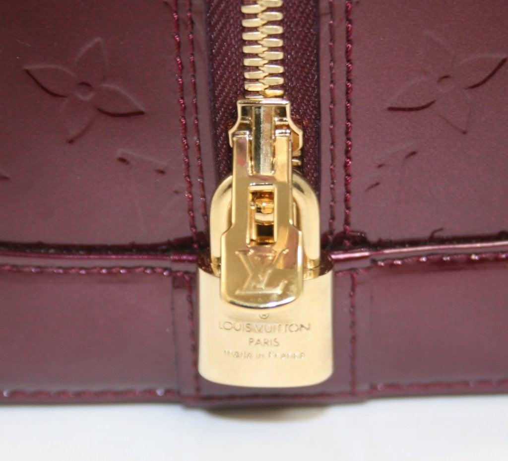 Louis Vuitton Rouge Fauviste Vernis Leather Alma GM 6