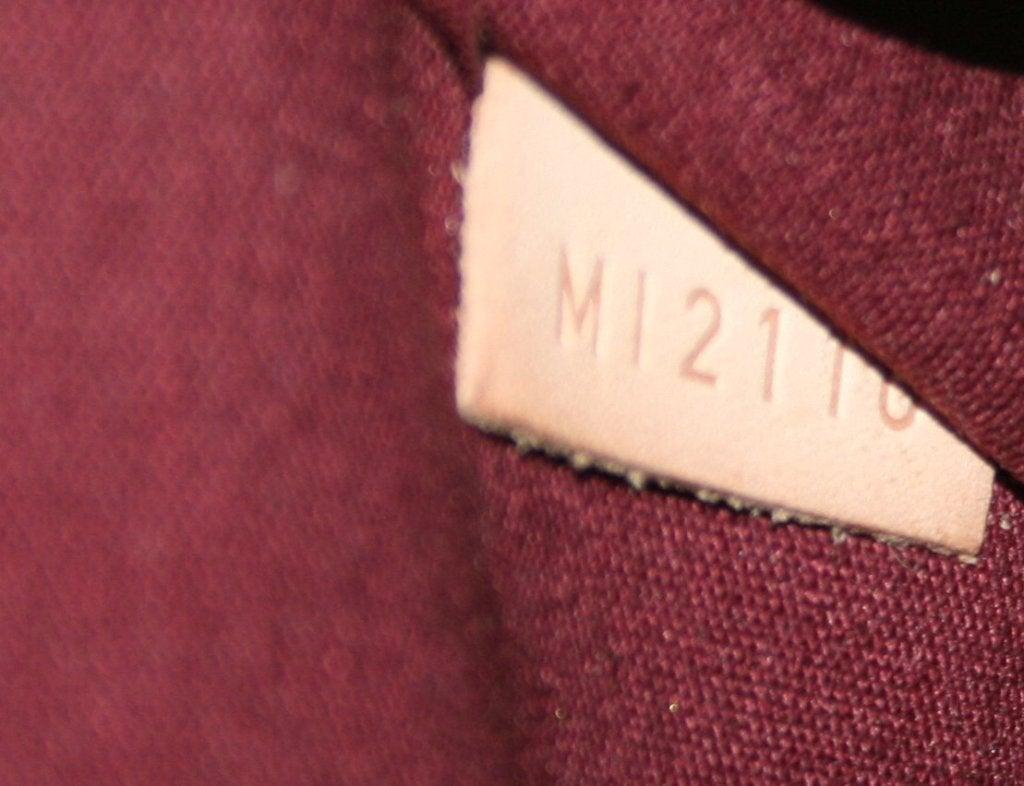 Louis Vuitton Rouge Fauviste Vernis Leather Alma GM 7